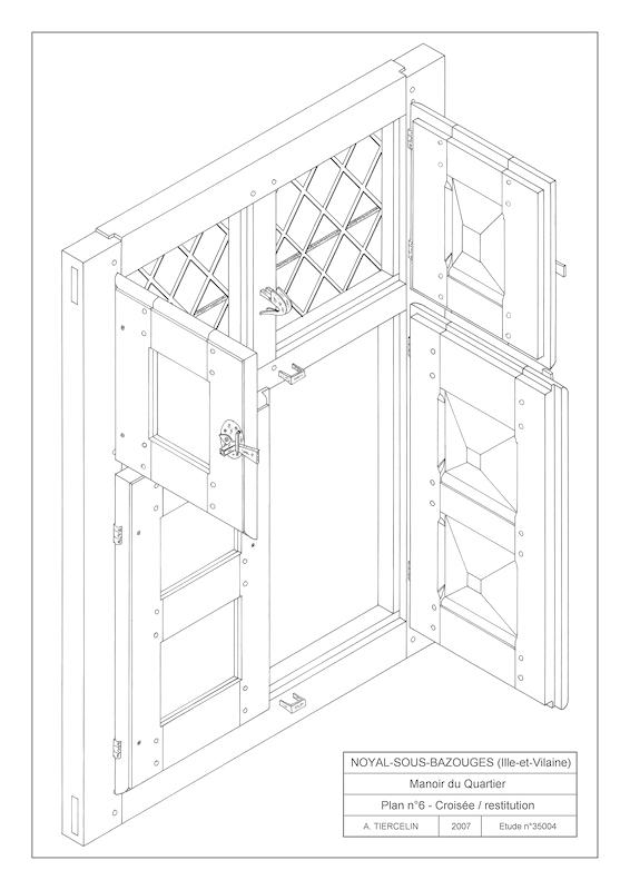 ch ssis de fen tres xve xviiie s visite rapide du site plans de. Black Bedroom Furniture Sets. Home Design Ideas